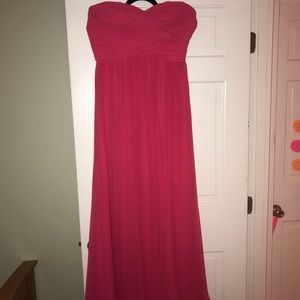 Lauren , Ralph Lauren Evening strapless gown, Sz 8
